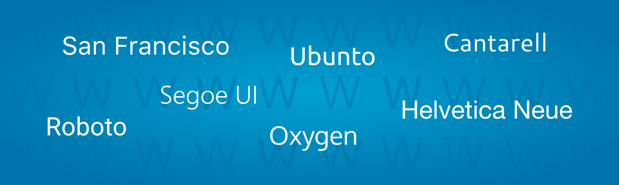 WordPress 4.6 Native Fonts