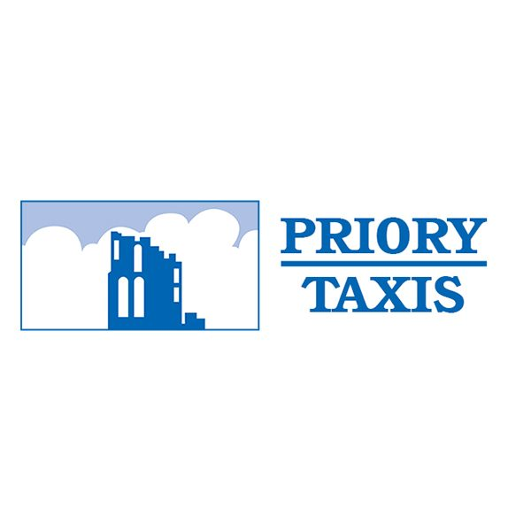 Priory Taxis logo